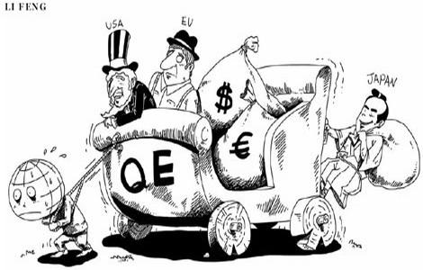 QE killing global economy