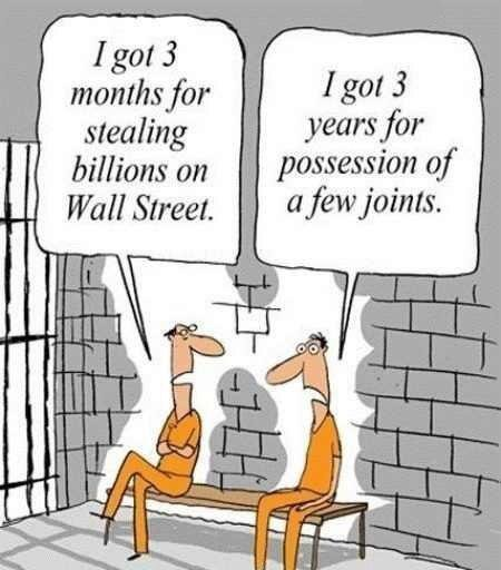 Finance vs pot cartoon